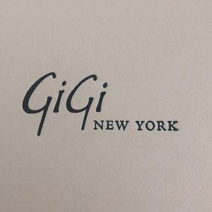 Gigi New York Uber Clutch in Stone